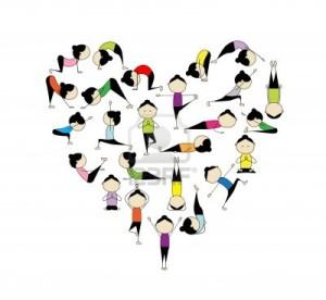10407404-i-love-yoga-heart-shape-for-your-design